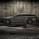 Jaguar XF Sportbrake Speedboat Concept Boasts Luxury and Stylish Characteristics of Jaguar Cars