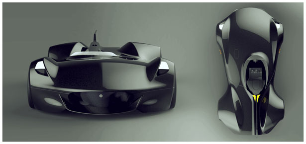Jaguar XK-I Concept Car by Mudit Gupta