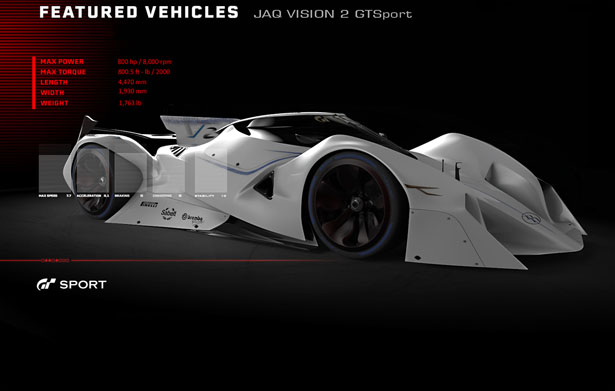 JAQ Vision 2 GT Sport Concept Car by Jorge Anaguano Quijia