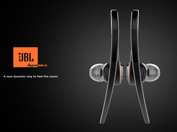 Dynamics Concept Earphones for JBL by Marco Schembri