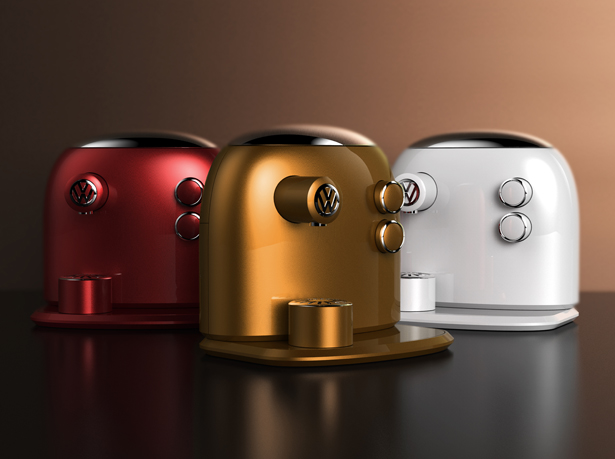 JCT600 Barista Beetle Coffee Maker by Jarim Koo
