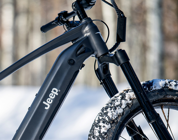 Powered by QuietKat, Jeep e-Bike Offers Most Capable Off-Road Electric Mountain Bike