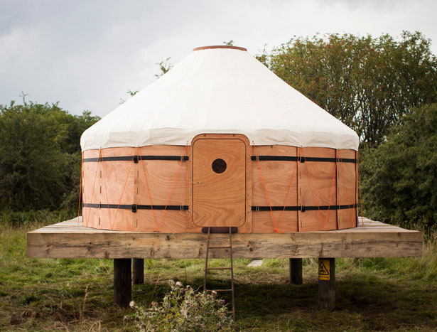 trakke jero wood canvas shelter a portable house for
