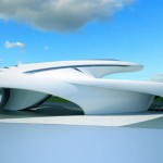 Futuristic Jet House by Jerome Olivet
