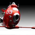 Awesome Jet Powered Flying Bike Concept