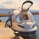 Jet Capsule Is An Egg-Shaped Boat With Rooftop Lounge Bed