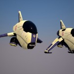 Jet Drone Small Aircraft Concept to Support Outer Space Missions