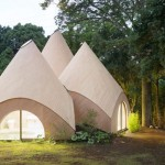 Jikka Teepee Shaped Connected Buildings for Elderly People