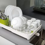 JosephJoseph Extend Dish Rack - Expandable Dish Drying Rack for Small Kitchen