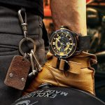 JSK Watch Series: Masculine Mechanical Timepiece with Custom Motorcycle Soul