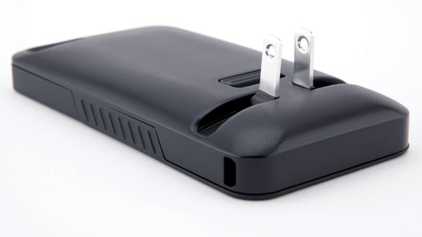 Juicetank iPhone Case and Charger in One by Jesse Pliner and Lloyd Gladstone