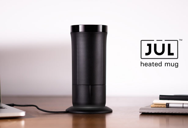 The Jül: Heated Smart Mug for Coffee & Tea by Power Practical