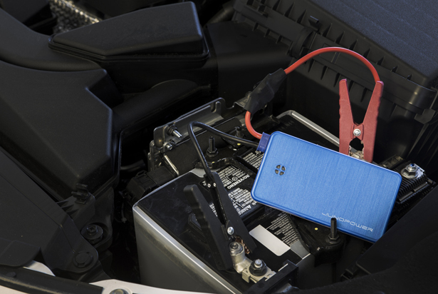 JunoJumpr : A Portable Jump Starter and Powerbank