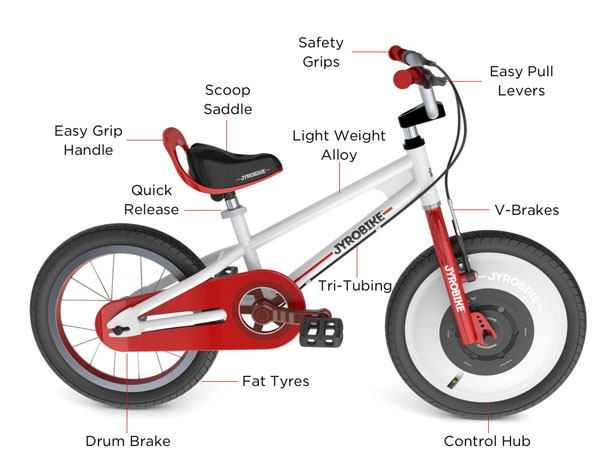Jyrobike - Auto Balance Bicycle