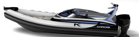 k-6 boat design by kardis