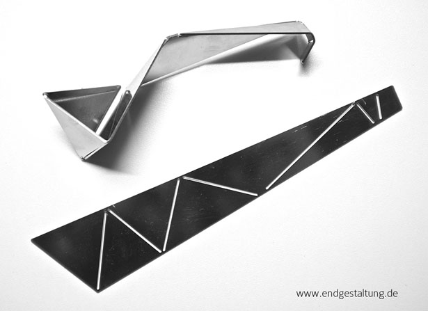 Kafolda - foldable spoon by Gordon Adler
