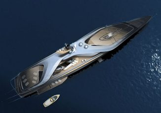 Pininfarina, Oceanco, and Lateral Have Teamed Up to Design KAIROS Superyacht Concept