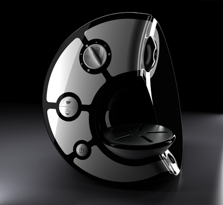 Coffee machine design by kamil kurka tuvie - Machine a cafe design ...
