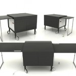 Kanapetko Desk Gives More Working Space Without Occupying A Lot Of Your Interior