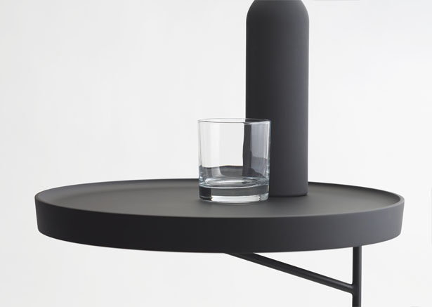 Kanban Side Table Was Inspired by Hong Kong's Historic Industrial Buildings