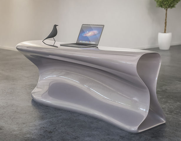 Kanda Reception Desk by Nuvist