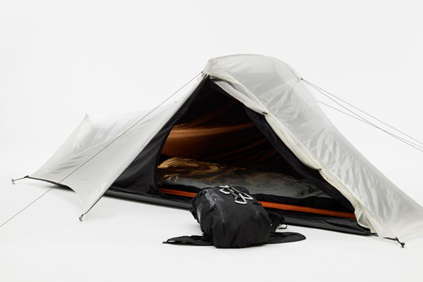 Kando Backpack and Tent by Damian Schneider