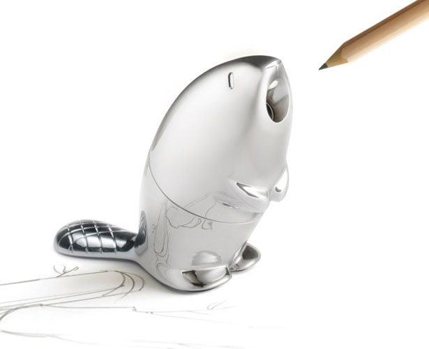 Kastor Pencil Sharpener by Rodrigo Torres