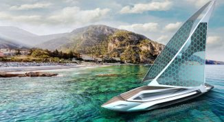 Kathreen Sailing Yacht Design Was Inspired by A Swordfish