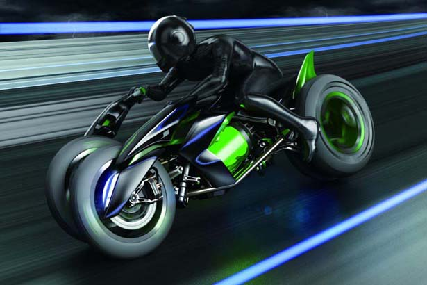 Kawasaki J Concept Motorbike Morphs to Suit Your Riding Style