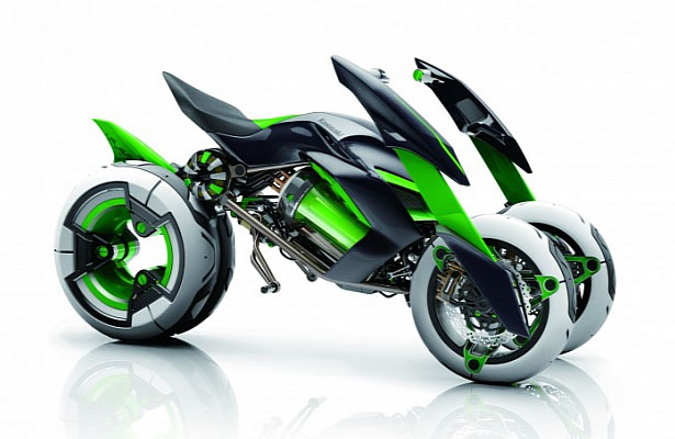 Kawasaki J Concept Motorbike Morphs To Suit Your Riding Style Tuvie