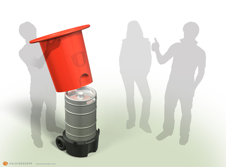 kegstand concept