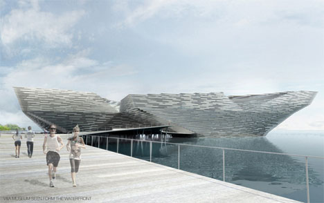 Kengo Kuma V&A Design at Dundee