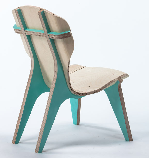 KerFchair Flat Pack Furniture by Goldberg Boris