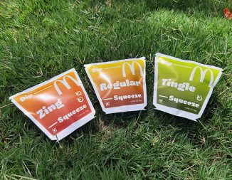 Redesigned Ketchup Sachet Packaging for Dipping or Squeezing