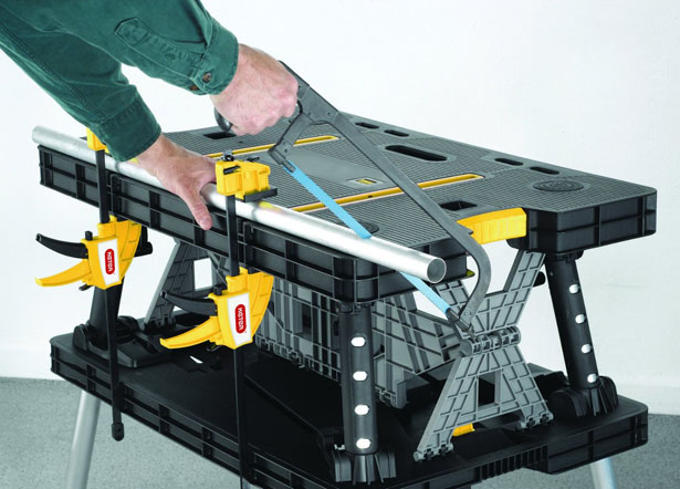 Keter Adjustable Folding Compact Table Work Station Solution