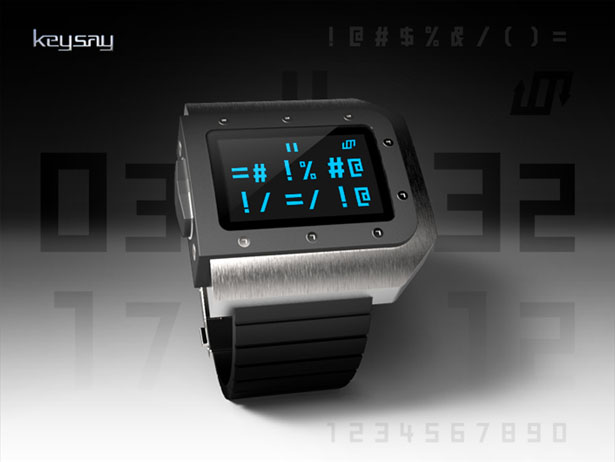 Keysay Watch Design by Jose Manuel Otero
