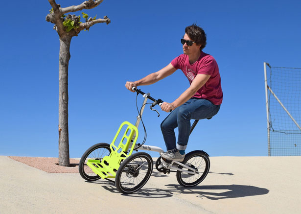 Kiff Urban Tricycle by 360 patrick jouffret for NP Innovation