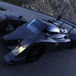 Kinetia LMX Racing Car Features Gull Wing Doors and Curvaceous Body
