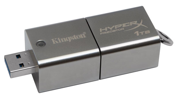 Kingston DataTraveler HyperX Predator 1TB USB 3.0 Flash Drive