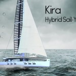 Kira Hybrid Sailing Yacht Bridges The Gap Between Sailing and Motor Yachting