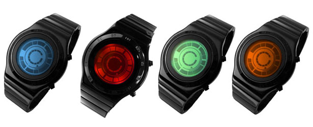 TokyoFlash Kisai rogue SR2 LED Watch