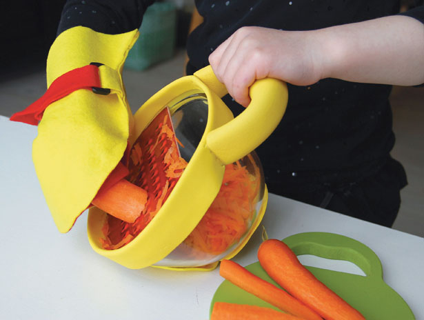 Kitchen Kids concept Kitchen Tools for Children