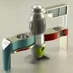 All in One Kitchen Mood, Futuristic Kitchen Concept