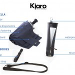 Kjaro Umbrella Features Fill-Empty Drop Case for Urban Travellers