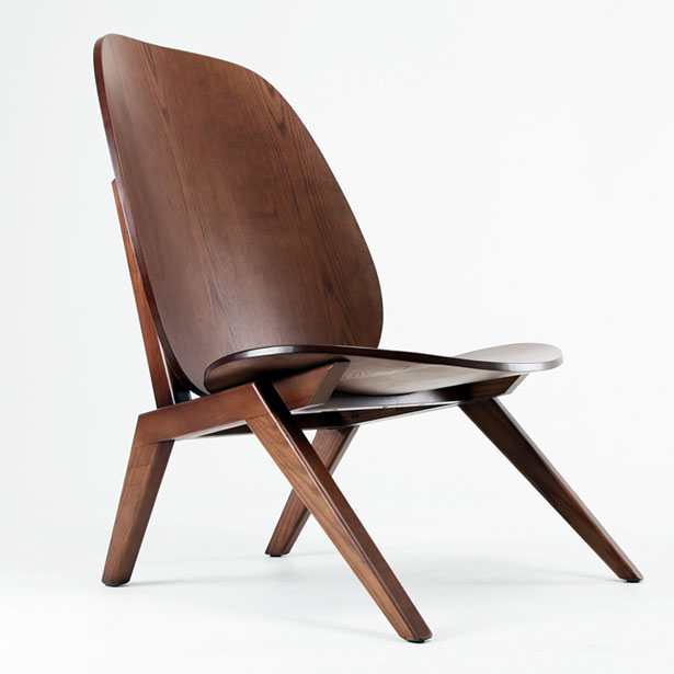 Klassiker Lounge Chair by Minwoo Lee