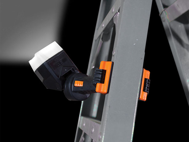 Klein Tools Clamping Worklight Directs Light Wherever You Need It