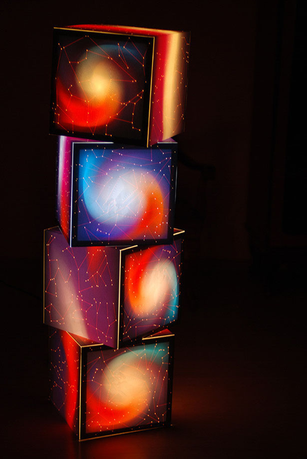 Know Your Stars Customizable Light Cube by Uniqcube