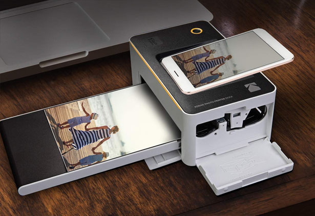 Kodak Dock and Wi-Fi Portable 4x6-inch Instant Photo Printer