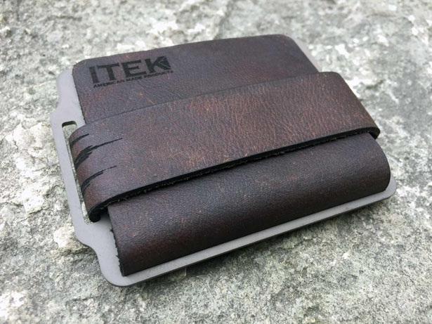 Kodiak Hero Minimalist Leather Wallet