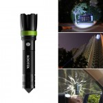 Kootek K1 Multifunctional Self Defense Survival Knife Is Also A Flashlight and A Hammer